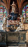 Nagrobek Kajetana Sołtyka w Kaplicy Świętokrzyskiej w katedrze na Wawelu, Kraków, Polska<br /> The gravestone of Kajetan Sołtyk, Holy Cross Chapel in the Wawel Cathedral, Cracow, Poland