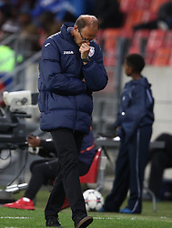 Denis Lavagne, Head Coach, of Free State Stars during the 2016 Premier Soccer League match between Chippa United and Free State Stars held at the Nelson Mandela Bay Stadium in Port Elizabeth, South Africa on the 23rd August 2016<br /><br />Photo by:   Richard Huggard / Real Time Images
