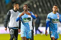 Joie groupe Brest / William SEA NESSEMON  - 26.01.2015 - Angers / Brest - 21eme journee de Ligue 2 -<br /> Photo : Vincent Michel / Icon Sport