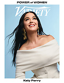 September 29, 2021 - WORLDWIDE: Katy Perry Covers Variety Magazine Power of Women Issue