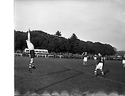 14/03/1956<br /> 03/14/1956<br /> 14 March 1956<br /> Soccer: Army Championship Final, Southern Command v Eastern Command at the Army Ground, Phoenix Park, Dublin.