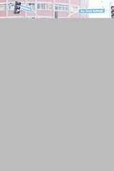 April 25, 2018 - Recife, Brazil - RECIFE, PE - 25.04.2018: OBRA DE SANEAMENTO NO CENTRO DO RECIFE - Motorists suffer from Compesa's sanitation work at the intersection of Mário Melo and Cruz Cabugá Avenues in the cente Recife, PE. (Credit Image: © Rafael Melo/Fotoarena via ZUMA Press)