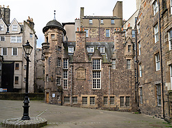 Writers Museum in Makars Court off the Royal Mile in Edinburgh Old Town. Edinburgh, Scotland, UK