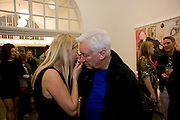 IWONA BLAZWICK; MICHAEL CRAIG-MARTIN, Whitechapel celebrates its expansion into the building next door with an opening party. London. 2 April  2009