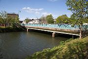 Bridge crossing River Avon, Chippenham, Wiltshire, England, UK built circa 1966