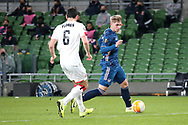 Emile SmithRowe of Arsenal during the Europa League Group B match between Dundalk and Arsenal at Aviva Stadium, Dublin, Republic of Ireland on 10 December 2020.