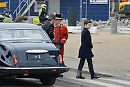 20.02.2018. Copenhagen, Denmark. <br /> Crown Prince Frederik, Prince Christian arrive to Christiansborg Palace Church. <br /> Photo: Ricardo Ramirez.