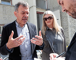 06.05.2018, Innsbruck, AUT, Bürgermeisterstichwahl Innsbruck, Stimmabgabe, im Bild Katherina und Georg Willi (Die Grünen) // during the mayoral stitch election in Innsbruck, Austria on 2018/05/06. EXPA Pictures © 2018, PhotoCredit: EXPA/ Eibner-Pressefoto/ Johann Groder<br /> <br /> *****ATTENTION - OUT of GER*****