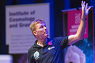 British Astronaut Tim Peake pictured during the UK Space Agency Schools Conference hosted by the University of Portsmouth at the Guildhall in the city.<br /> The conference celebrated the work of over a million UK school students inspired by Peake's Principia mission, which saw the flight dynamics and evaluation graduate spend more than six months on board the International Space Station.<br /> Youngsters had the chance to present their work through talks and exhibitions to experts from the UK Space Agency, European Space Agency (ESA), partner organisations and the space sector. Most also had the chance to meet Tim.<br /> Picture date Wednesday 2nd November, 2016.<br /> Picture by Christopher Ison for the University of Portsmouth.<br /> Contact +447544 044177 <br /> chris@christopherison.com<br /> www.christopherison.com