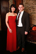 NO FEE PICTURES<br /> 9/11/14 James Kelly and Christine O'Hare, Dunleer at the Tiny Hearts fundraising ball in aid of Heart Children Ireland at Darver Castle in County Louth. Picture:Arthur Carron