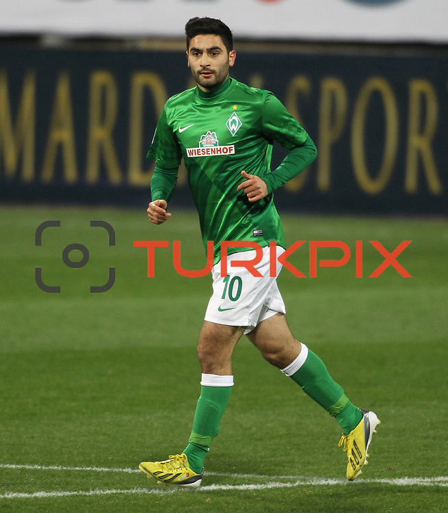 Werder Bremen's Mehmet Ekici during their Tuttur.com Cup matchday 2 soccer match Trabzonspor between  Werder Bremen at Mardan stadium in AntalyaTurkey on 07 Monday January, 2013. Photo by Aykut AKICI/TURKPIX