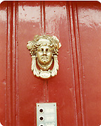 Old amateur photos of Dublin streets churches, cars, lanes, roads, shops schools, hospitals Door Knockers May 1984 Eccles St Interior number 4 door ways, knockers, railings,