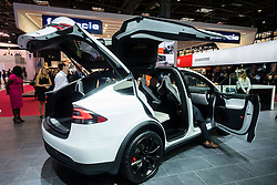 Tesla Model X at Paris Motor Show 2016