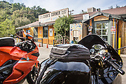 Cooks Corner Biker Bar in South Orange County California