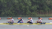 Caversham, Nr Reading, Berkshire.<br /> GBR LM4- Stroke Peter CHAMBERS, Jonno CLEGG, Mark ALDRED and Chris BARTLEY. in the driving rain at the <br /> GBRowing Media Day.<br /> <br /> Wednesday 11.05.2016<br /> <br /> [Mandatory Credit: Peter SPURRIER/Intersport Images]