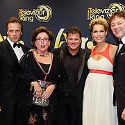 NLD/Amsterdam/20121019- Televiziergala 2012, Joep Sertons, Catherine Keyl, Wolter kroes, Tanja Jess en Frits Sissing