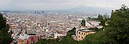 Veduta di Napoli da Caltel Sant'Elmo.