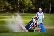 01-09-2016 Golffoto's van het Nationaal Open op de Hilversumsche Golf Club in Hilversum. Finale.  Robin Swane