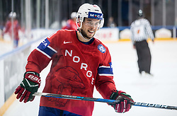 Mattias Norstebo of Norway during the 2017 IIHF Men's World Championship group B Ice hockey match between National Teams of Norway and Switzerland, on May 7, 2017 in Accorhotels Arena in Paris, France. Photo by Vid Ponikvar / Sportida