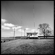 WABG Radio is way out in the country.  Known for playing the blues and keeping the local populace informed.  On the way to Money, Mississippi Delta