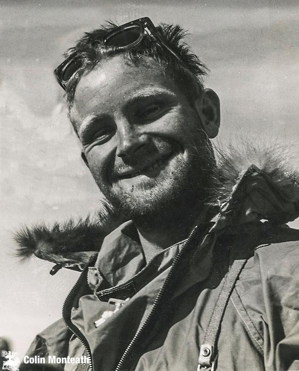 Jim Wilson in Antarctica after 1st ascent Mt Terror, January 1959 Photo: John Harrison