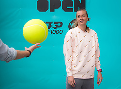 May 3, 2019 - Madrid, MADRID, SPAIN - Petra Kvitova of the Czech Republic during All Access Hour at the 2019 Mutua Madrid Open WTA Premier Mandatory tennis tournament (Credit Image: © AFP7 via ZUMA Wire)
