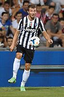 Marco Motta (Juve)<br /> Juventus vs Sassuolo<br /> Trofeo Tim<br /> Triangolare di calcio Milan - Juventus - Sassuolo<br /> 23/07/2013 Reggio Emilia, stadio Mapei - Citta del Tricolore.<br /> Football 2013<br /> Foto Antonietta Baldassarre / Insidefoto