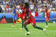 Portugal Midfielder Renato Sanches during the Euro 2016 final between Portugal and France at Stade de France, Saint-Denis, Paris, France on 10 July 2016. Photo by Phil Duncan.