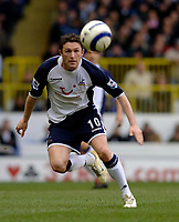 Photo: Daniel Hambury.<br />Tottenham Hotspur v Blackburn Rovers. The Barclays Premiership. 05/03/2006.<br />Tottenham's match winner Robbie Keane.