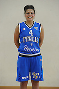 DESCRIZIONE : Roma Acqua Acetosa amichevole Nazionale Italia Donne<br /> GIOCATORE : Marie Raelin D'Alie<br /> CATEGORIA : ritratto<br /> SQUADRA : Nazionale Italia femminile donne FIP<br /> EVENTO : amichevole Italia<br /> GARA : Italia Lazio Basket<br /> DATA : 27/03/2012<br /> SPORT : Pallacanestro<br /> AUTORE : Agenzia Ciamillo-Castoria/GiulioCiamillo<br /> Galleria : Fip Nazionali 2012<br /> Fotonotizia : Roma Acqua Acetosa amichevole Nazionale Italia Donne