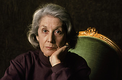 March 20, 2016 - Paris, France - Nadine Gordimer, South African writer in 1993. (Credit Image: © Ulf Andersen/Aurimages via ZUMA Press)