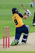 Adam Lyth of Yorkshire during the Vitality T20 Blast North Group match between Nottinghamshire County Cricket Club and Yorkshire County Cricket Club at Trent Bridge, Nottingham, United Kingdon on 31 August 2020.