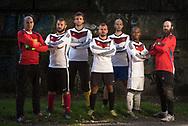 Nationalmannschaft der Wohnungslosen für Oslo. Homeless World Cup. Hamburg 2017