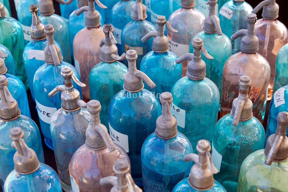 vintage seltzer water bottles