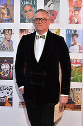 Giles Deacon attending the Vogue Gala Dinner in Kensington Gardens, London.