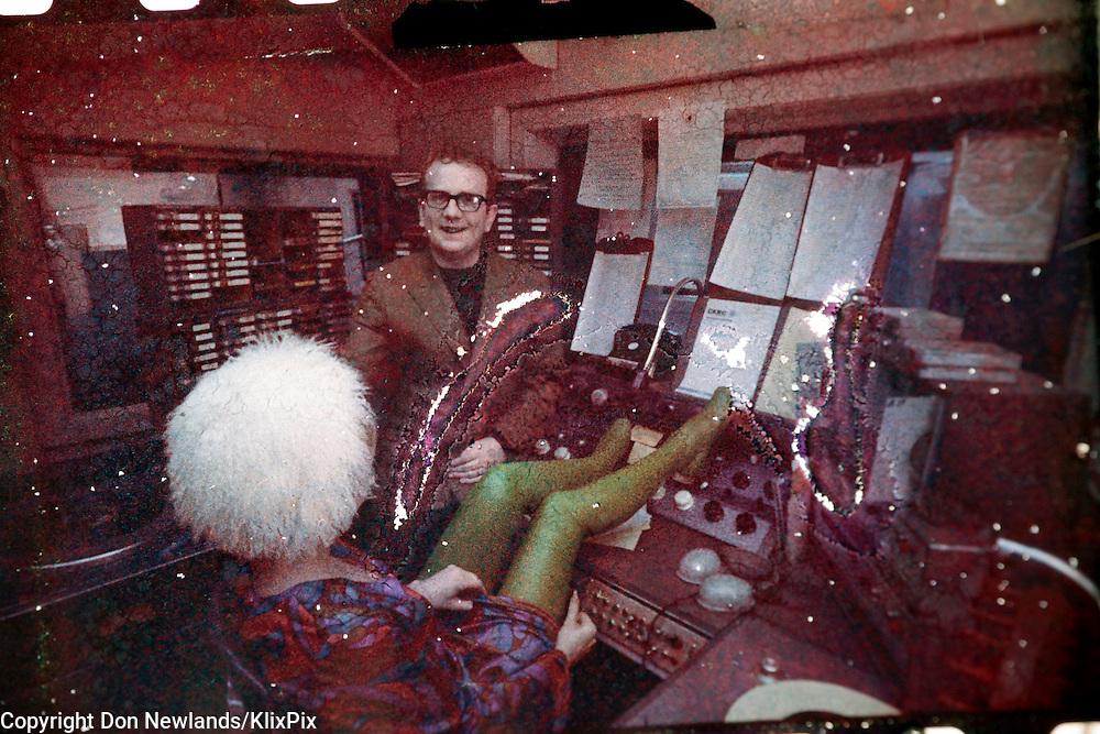 Ron Legge; DJ; man; entertainer; woman; broadcast; talent; music; CKRC; Winnipeg; 1967-69