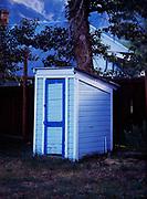 Outhouse blues, Twin Lakes, Colorado.