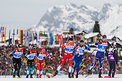 February 21, 2019 - Seefeld In Tirol, AUSTRIA - 190221 Emil Iversen of Norway competes in men's cross-country skiing sprint quarter final during the FIS Nordic World Ski Championships on February 21, 2019 in Seefeld in Tirol..Photo: Joel Marklund / BILDBYRN / kod JM / 87880 (Credit Image: © Joel Marklund/Bildbyran via ZUMA Press)