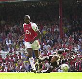 20040515 Arsenal vs Leicester, London, Premiership Football,