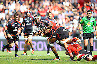 Yannick Nyanga - 30.05.2015 - Toulouse / Oyonnax - Barrages Top 14<br />