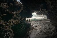 Eroded Natural Tunnel, Kaumahina State Wayside Park, Maui