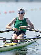 IRL LW1X Niamh Ni Cheilleacher, at the start of her opening heat of the lightweight  women's single sculls at the 2005, World Rowing Championships, held at the  Nagaragawa International Regatta Course, Gifu, JAPAN: Saturday  27.08.2005.   © Peter Spurrier/Intersport Images - email images@intersport-images