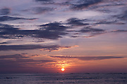A beautiful Waikiki sunset.