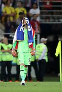 Danijel Subasic of Croatia celebrates after winning the 2018 FIFA World Cup Russia, semi-final football match between Croatia and England on July 11, 2018 at Luzhniki Stadium in Moscow, Russia - Photo Tarso Sarraf / FramePhoto / ProSportsImages / DPPI