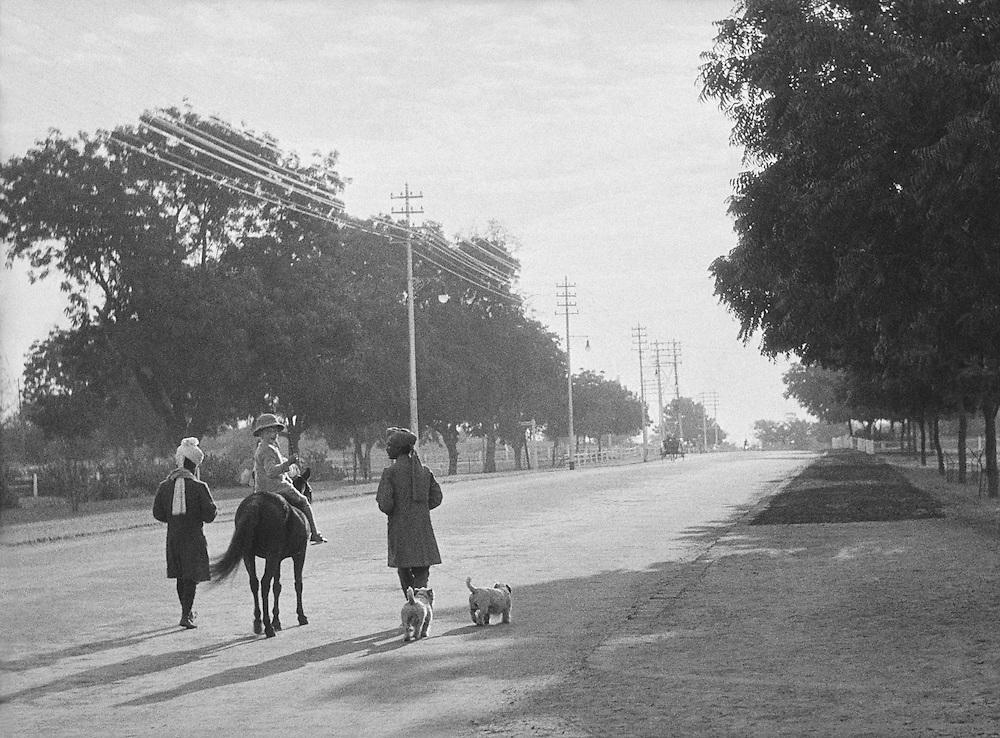 A Wealthy Englishman's Son, Delhi, India, 1929