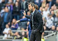 Football - 2019 / 2020 Premier League - Tottenham Hotspur vs. Watford<br /> <br /> Quique Sanchez Flores, Manager of Watford FC, at The Tottenham Hotspur Stadium.<br /> <br /> COLORSPORT/DANIEL BEARHAM