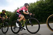 Simon Yates (GBR - Mitchelton - Scott) pink leader jersey during the 101th Tour of Italy, Giro d'Italia 2018, stage 12, Osimo - Imola 213 km on May 17, 2018 in Italy - Photo Luca Bettini / BettiniPhoto / ProSportsImages / DPPI