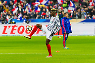 Paul Pogba (fra) during the International Friendly Game football match between France and Colombia on march 23, 2018 at Stade de France in Saint-Denis, France - Photo Pierre Charlier / ProSportsImages / DPPI