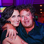 NLD/Hilversum/20130820- Najaarspresentatie RTL 2013, Carly Wijs en Dirk Zeelenberg