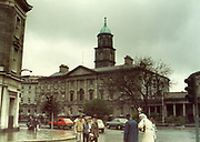 Old Dublin Amature Photos May 1983 WITH, Hughes Shop, Sign Afton, Cigarettes, Jones Road, St Patricks Tce, St Cammies School, NCR, Salvation Army, Building, Abbey St, Rotunda Hospital, Old amateur photos of Dublin streets churches, cars, lanes, roads, shops schools, hospitals